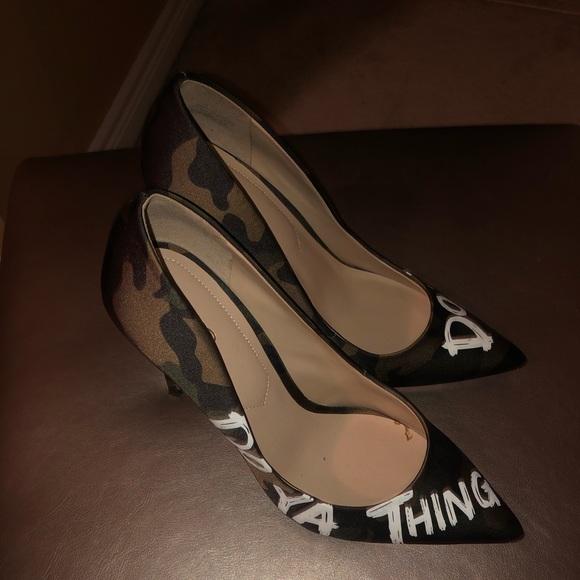 Aldo Shoes - Aldo army stilettos